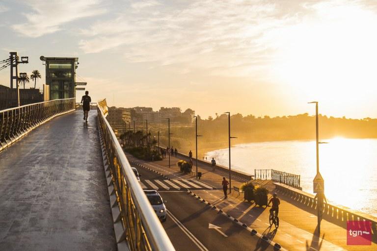 L'Ajuntament pren mesures pel cap de setmana per facilitar que es respectin les distàncies interpersonals durant les passejades