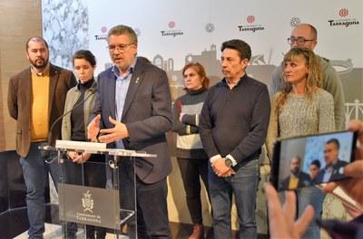 L'alcalde Ricomà reclama una inversió en comunicació a l'alçada del risc de viure al costat d'un polígon petroquímic