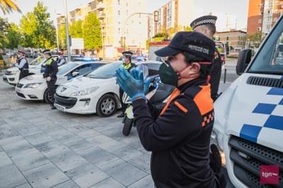 Protecció Civil rep diferents donacions de mascaretes