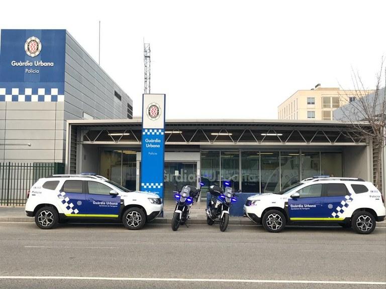 La Guàrdia Urbana de Tarragona estrena quatre nous vehicles