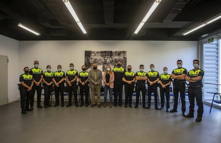 La Guàrdia Urbana de Tarragona incorpora tretze agents nous