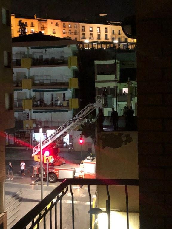La Guàrdia Urbana deté a dues persones que havien accedit a l'interior d'un habitatge