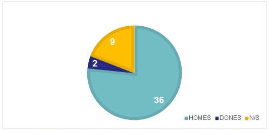 Gràfic 1: Nombre de persones que viuen al carrer trobades la nit del recompte 2017