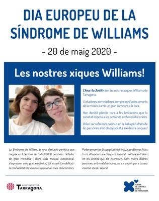 El dia 20 se celebra el Dia europeu de la síndrome de Williams