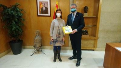 El Grup Social ONCE lliura a Tarragona la 'Capsa de la Il·lusió'