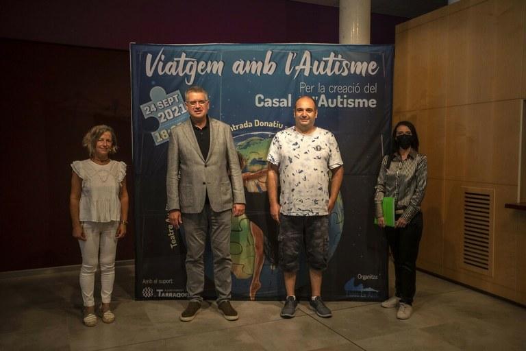 El Teatre Tarragona acollirà la gala Benèfica 'Viatgem amb l'Autisme'