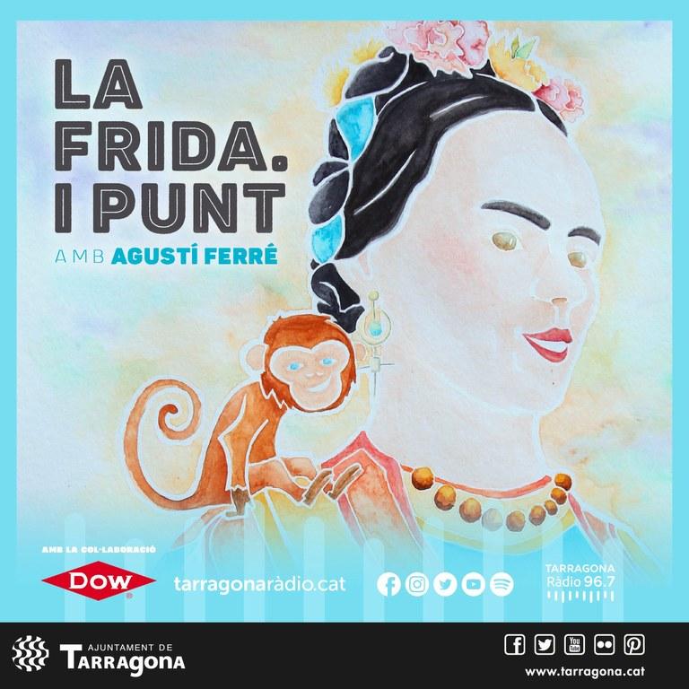 Ja es pot escoltar el podcast de la Frida a Tarragona Ràdio