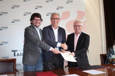 L'Ajuntament i La Muntanyeta signen l'acord de cessió de l'Edifici Blanc de Bonavista