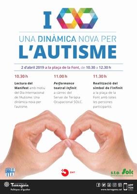 Lectura del Manifest amb motiu del Dia Mundial de l'Autisme