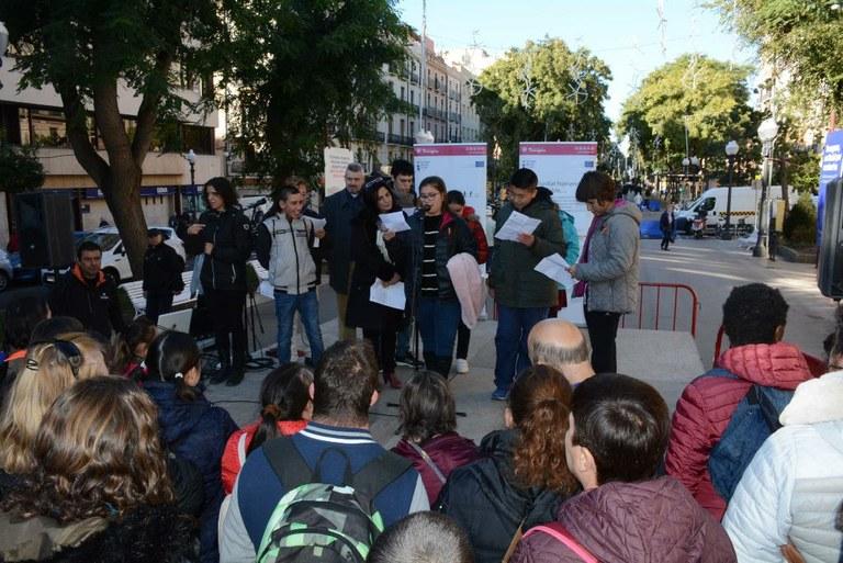 Tarragona se suma a la commemoració del Dia Internacional de les Persones amb Discapacitat