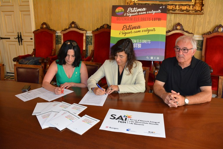 Ajuntament i Generalitat sumen esforços per impulsar el Servei d'Atenció Integral a les diversitats sexuals i de gèneres