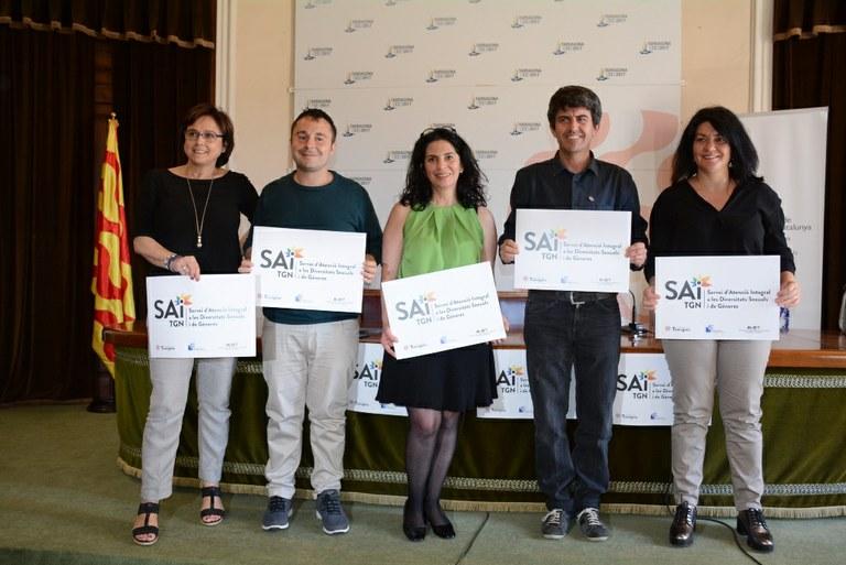 Tarragona engega el nou servei integrat d'atenció a les diversitats sexuals (SAI)