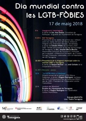 El 17 de maig se celebra el Dia Mundial contra les LGTB-fòbies
