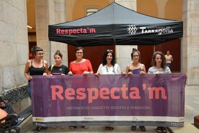La campanya Respecta'm instal·larà un punt d'informació itinerant per Santa Tecla