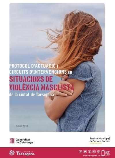 Presentació de la nova Guia del Protocol de violència masclista a Tarragona i lectura del Manifest unitari per l'eliminació de la violència cap a les dones