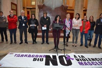 Presentació de la nova Guia del Protocol de violència masclista a Tarragona i Manifest del Dia Internacional per a l'Eliminació de la Violència envers les Dones