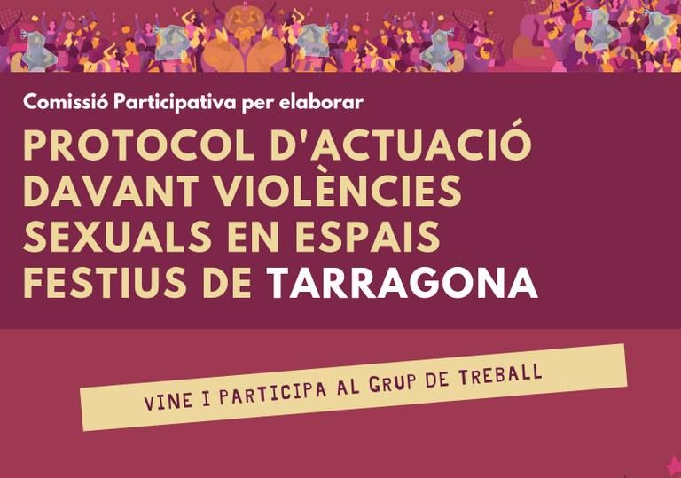 Nova data de la Comissió participativa per elaborar el Protocol d'actuació contra les agressions sexuals en espais d'oci nocturn