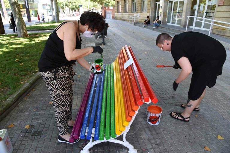 Tarragona celebra diferents actes en el marc del Dia Internacional de l'Orgull LGTBIQ