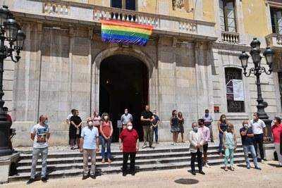 Tarragona celebra el Dia Internacional de l'Orgull LGTBIQ