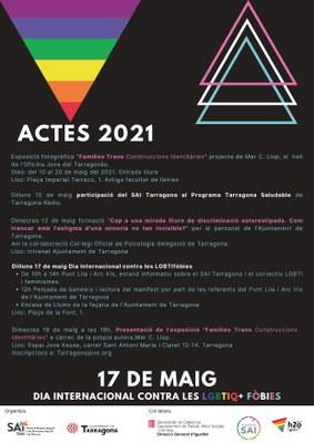 El dilluns 17 de maig se celebra el dia mundial contra les LGBTIQ+ fòbies