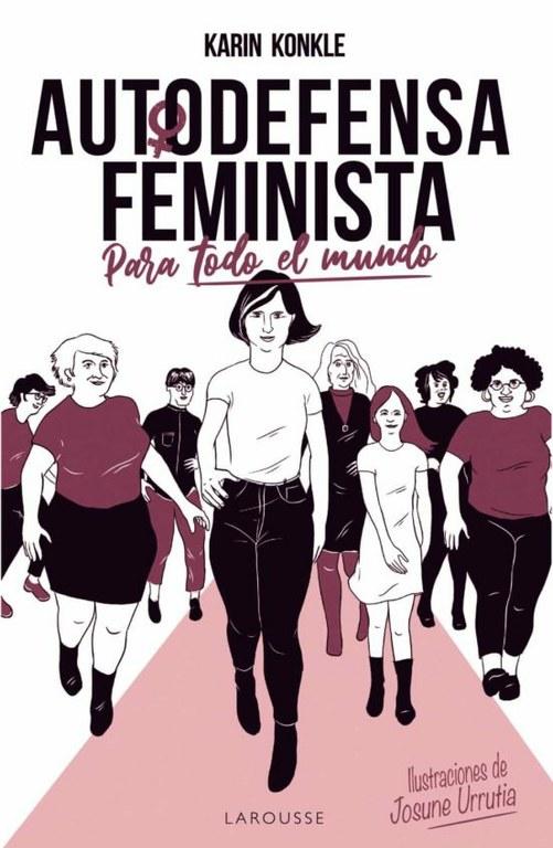 Karin Konkle presenta virtualment el llibre 'Autodefensa feminista (para todo el mundo)' aquest dijous