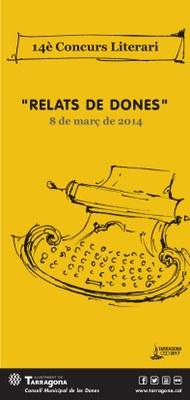 Ja està en marxa el 14è Concurs literari 'Relats de dona'