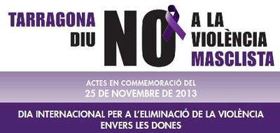 """L'Ajuntament se suma als actes del """"Dia Internacional per a l'eliminació de la violència masclista"""""""