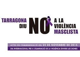 Tarragona diu no a la violència masclista