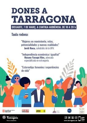 """L'Antiga Audiència acull aquest dissabte la jornada """"Dones a Tarragona"""""""