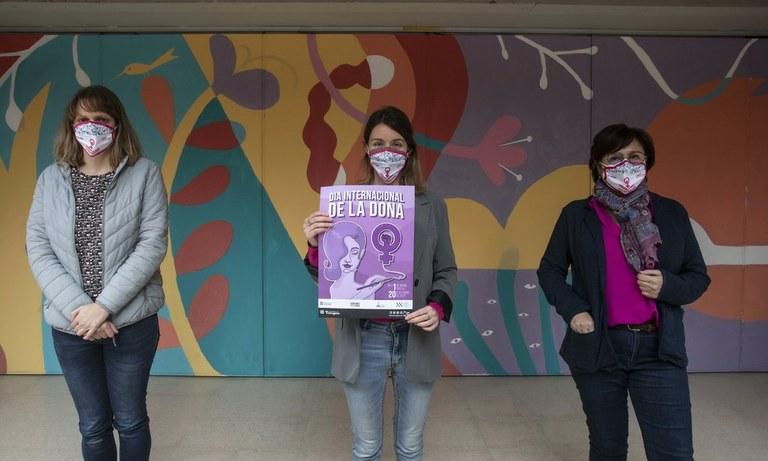 La Conselleria de Feminismes i LGTBQ+ de l'Ajuntament presenta els actes del Dia de la Dona
