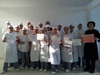 Alumnes curs de cuina 2012