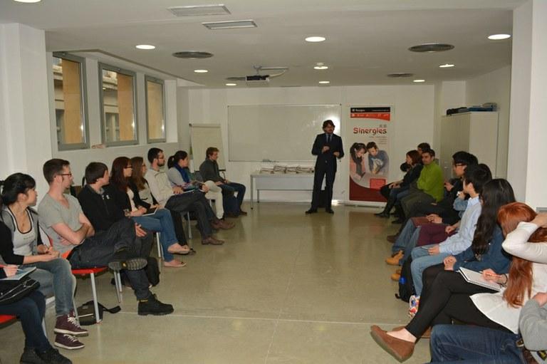 Joves catalans i xinesos participen en el programa Sinergies, de captació de talent emprenedor i internacionalització empresarial
