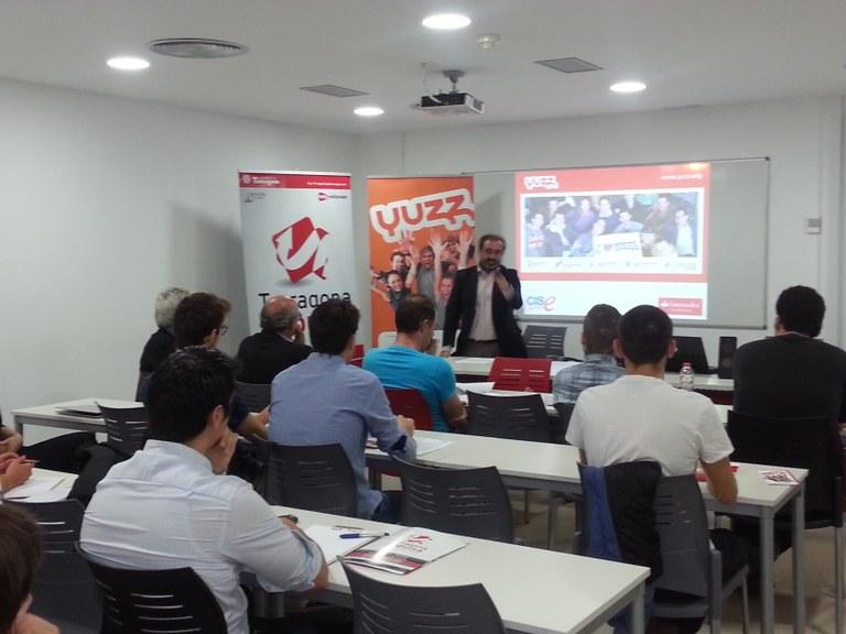 L'Ajuntament de Tarragona inicia el programa Yuzz per a joves emprenedors