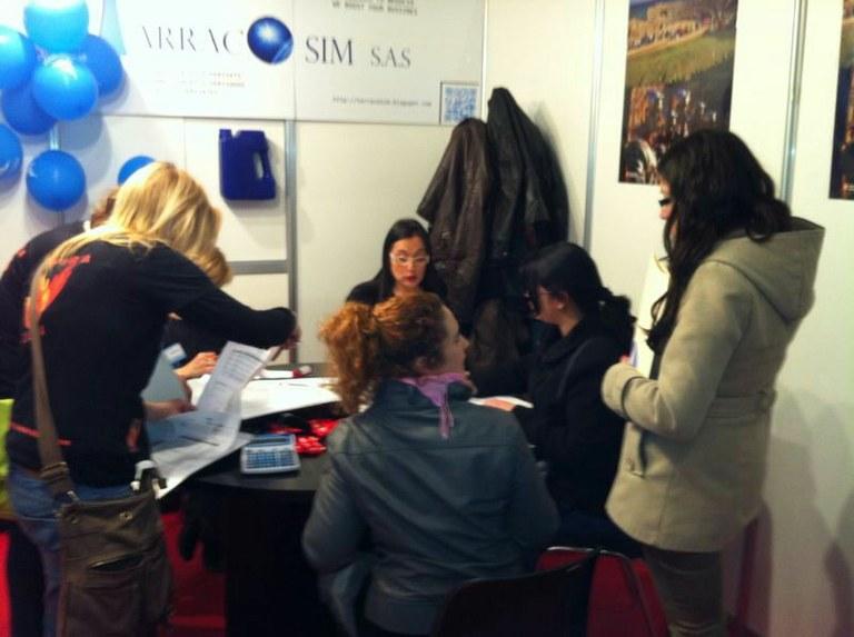 L'Ajuntament de Tarragona participa en la Fira Internacional d'Empreses Simulades