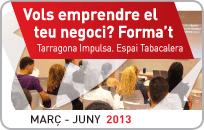 El 7 de març comença a la seu de Tarragona Impulsa un nou cicle de formació per a emprenedors