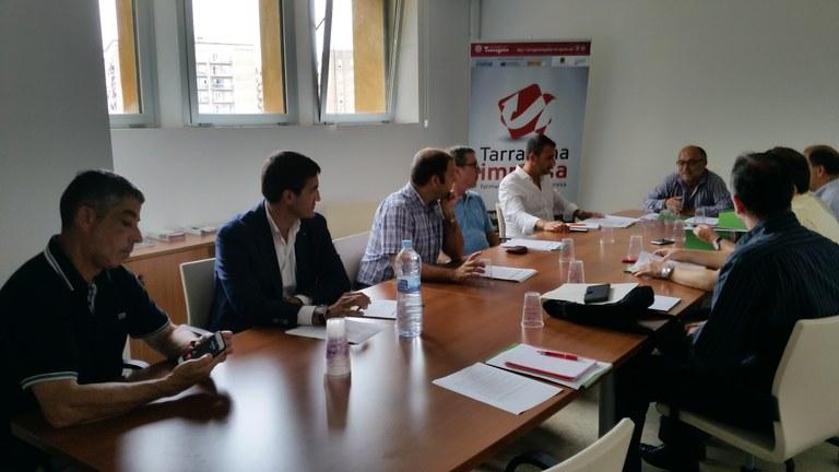 El conseller Francesc Roca presenta una campanya per promocionar els polígons empresarials de la ciutat