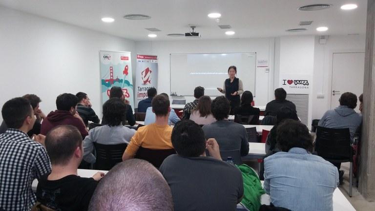 """Inici del Programa Yuzz 2015 """"Joves amb idees"""""""
