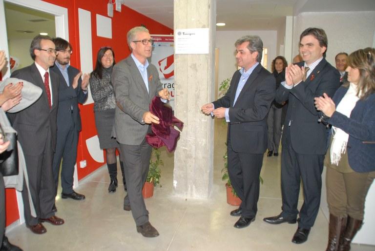 L'Alcalde i el Subdelegat del Govern inauguren les noves instal·lacions de Tarragona Impulsa a l'Espai Tabacalera