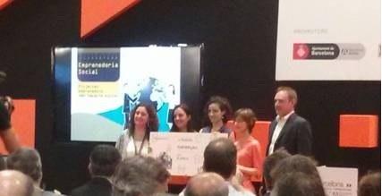 L'empresa guanyadora del Concurs Yuzz Tarragona 2014, primera finalista del programa d'emprenedoria social Barcelona Activa