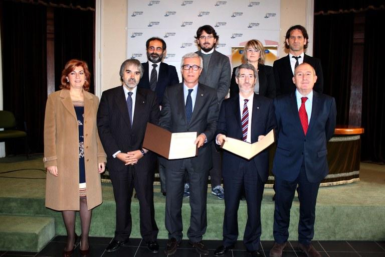 La Generalitat i l'Ajuntament de Tarragona signen un acord de col·laboració per desplegar polítiques actives d'ocupació de cara als Jocs Mediterranis 2017