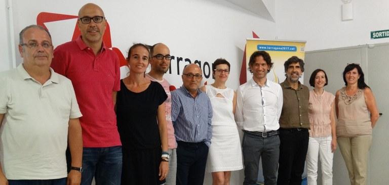 La nova directora del Servei d'Ocupació de Catalunya visita Tarragona Impulsa