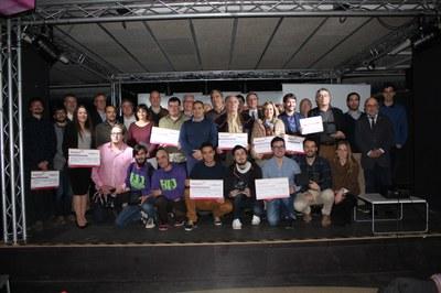L'Ajuntament premia vuit projectes emprenedors als Premis Tarragona Impulsa