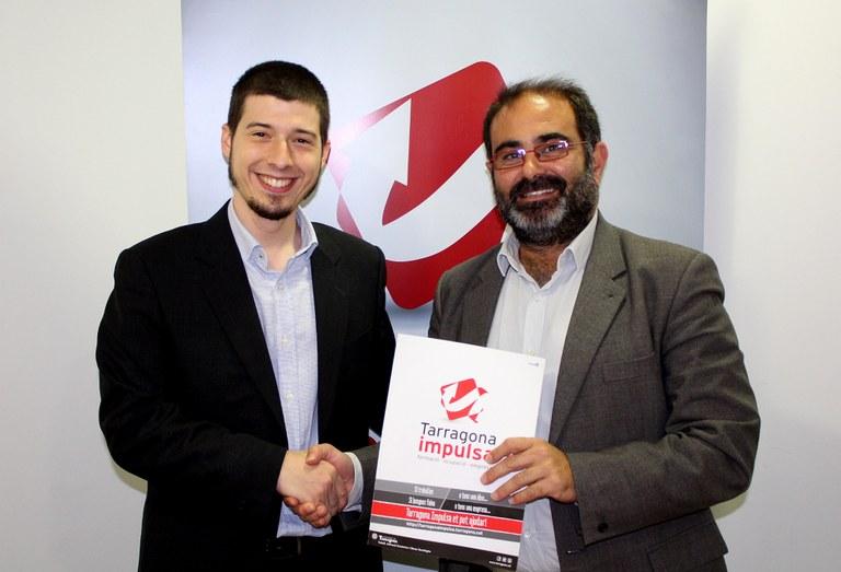 Tarragona Impulsa i l'empresa Startupclic signen un conveni de col·laboració