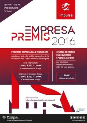 Dijous es lliuraran els Premis Empresa Tarragona Impulsa