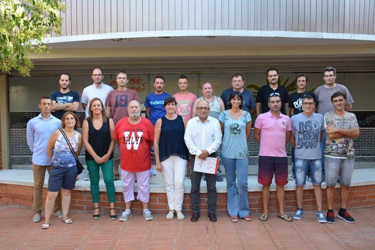 Residents de Campclar i Bonavista rebran formació en gestió d'instal·lacions esportives en el marc dels Jocs Mediterranis