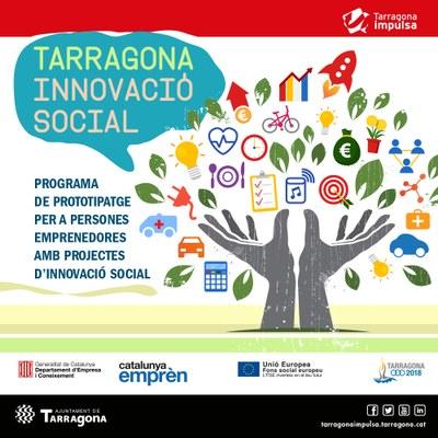 El programa Tarragona Innovació Social ajudarà el desenvolupament de projectes amb impacte social a la ciutat