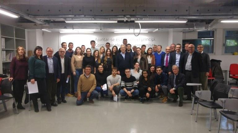 Comença el programa Explorer per donar suport a 26 joves amb idees de negoci