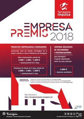 Els Premis Empresa Tarragona Impulsa distingiran el talent emprenedor del territori