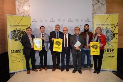 La Fira 'Camins' permet descobrir l'àmplia oferta de formació professional de les comarques de Tarragona