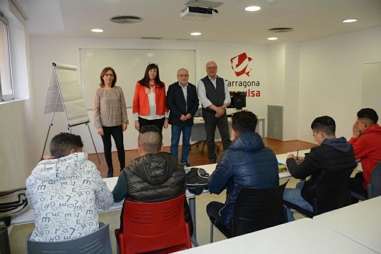 L'Ajuntament de Tarragona i la Generalitat ofereixen Tallers d'orientació laboral als menors no acompanyats residents a la ciutat